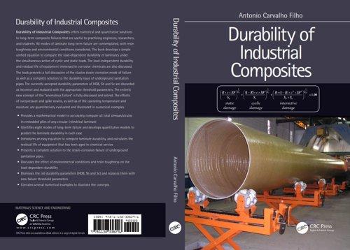 Capa do Livro Durability of Industrial Composites Por Antônio Carvalho